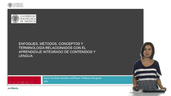 Enforque, metodos, conceptos y terminologia relacionados con el Aprendizaje Integrado de Contenidos y Lengua