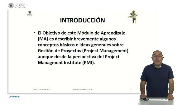 Conceptos básicos de gestión de proyectos.
