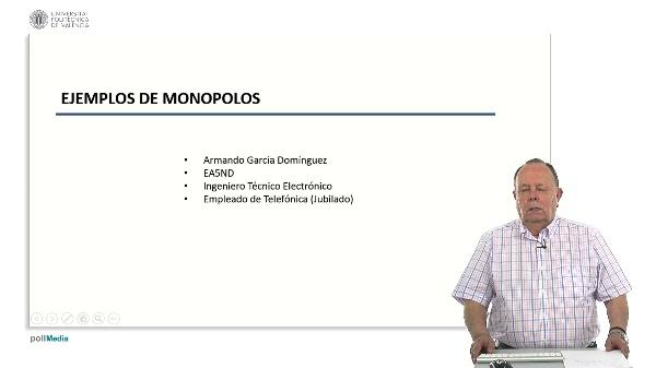 Ejemplos de monopolo