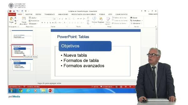 Tablas en PowerPoint