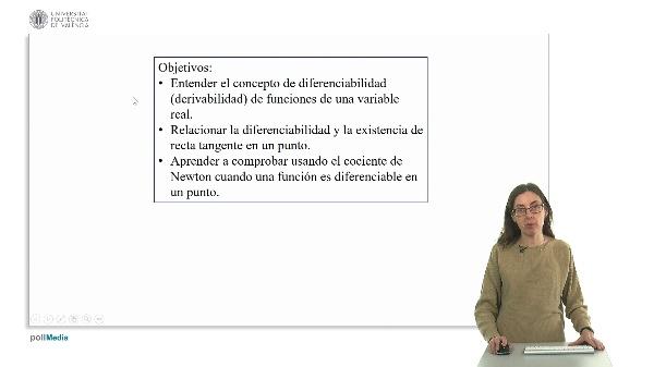 Diferenciabilidad de funciones de una variable