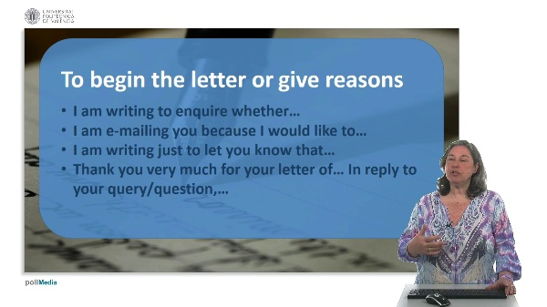 How to write an informal letter. Useful expressions