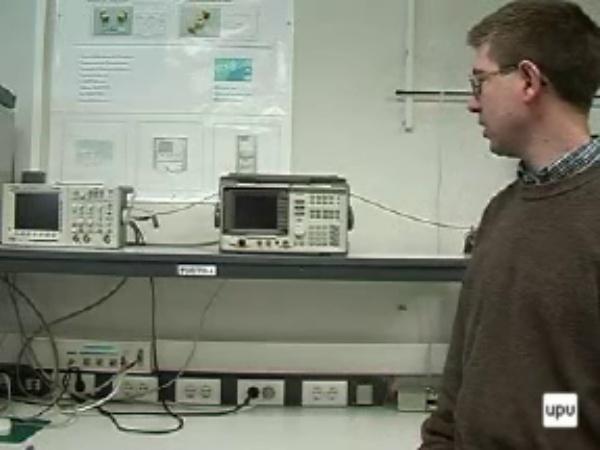 Manejo del analizador de espectros HP8590L