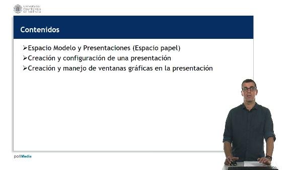 AutoCAD 2018. Creación y configuración de presentaciones.