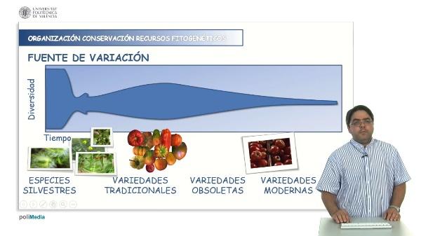 Organización de la conservación de recursos fitogenéticos