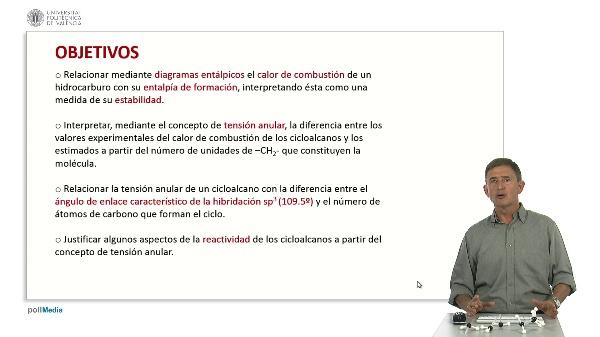 Estabilidad de los cicloalcanos.