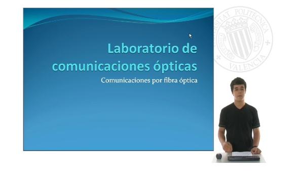 Proyecto de música electrónica y óptica. Laboratorio de comunicaciones ópticas