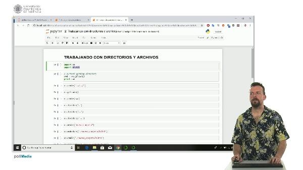 Trabajos con directorios y archivos