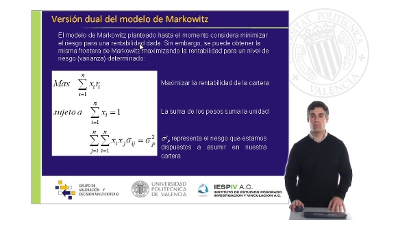 El modelo de Markowitz II