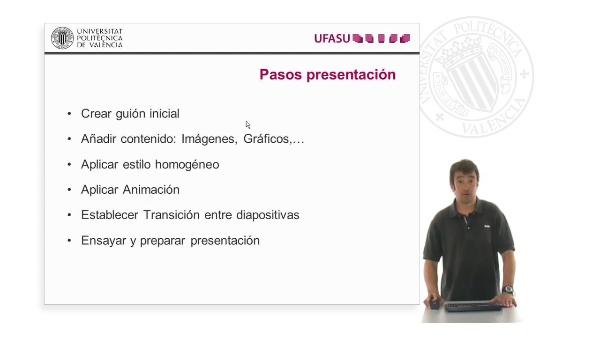 Preparar mi presentación