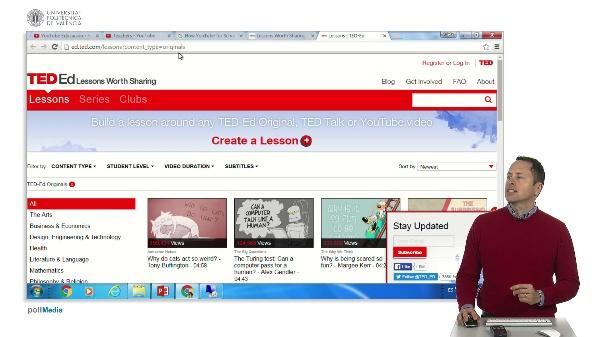 Recursos educativos en vídeo. TED-ED