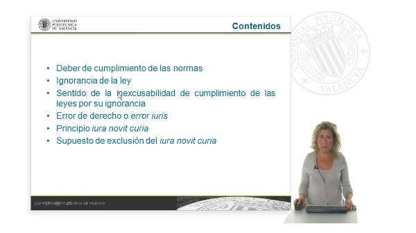 La eficacia general de la norma jurídica: eldeber jurídico de cumplimiento