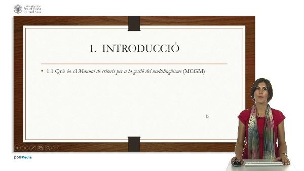 Recomanacions d'ús del manual de criteris per la gestió del multilingüisme