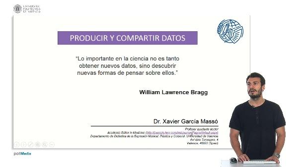 Producir y compartir datos