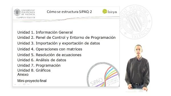 Presentacion. SiPAQ-2: Introduccion a la Simulacion de Procesos Ambientales y Quimicos con Matlab? y Scilab?