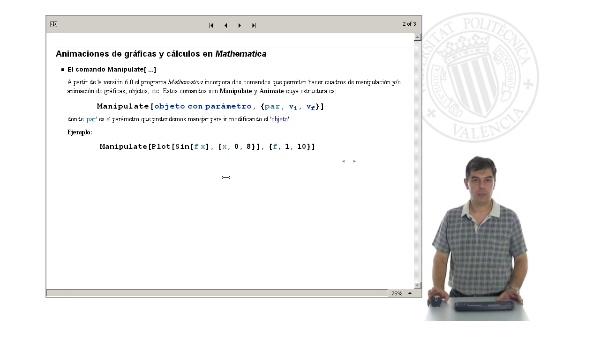 Animaciones con Mathematica