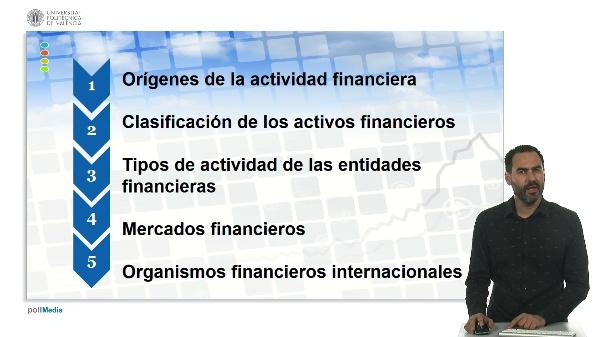 U.1. El sistema financiero. 1 Introducción.