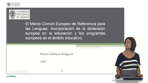 El Marco Comun Europeo de Referencia para las Lenguas