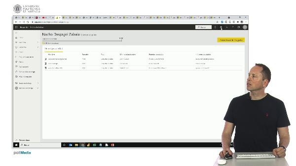 MOOC Power BI. Opciones generales de configuración del servicio en la nube
