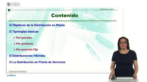 Distribución en Planta. Introducción