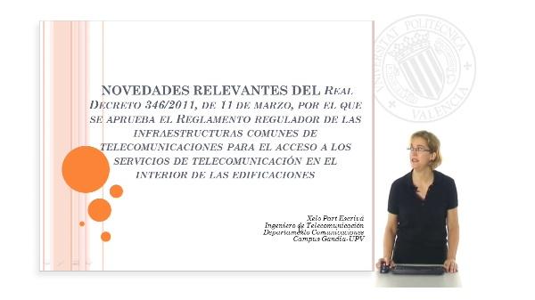 Novedades Reglamento Infraestructuras Comunes de Telecomunicaciones ICT 2011