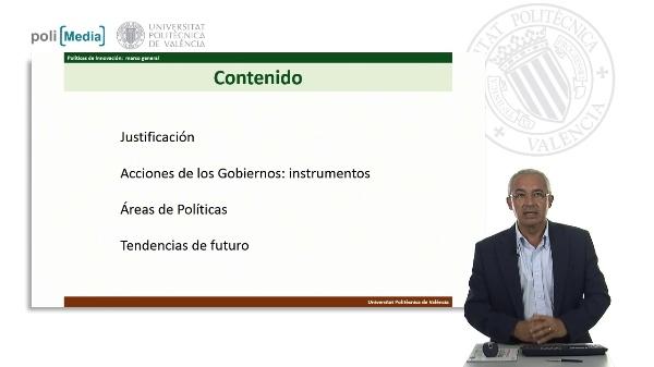 Políticas de Innovación. Marco General