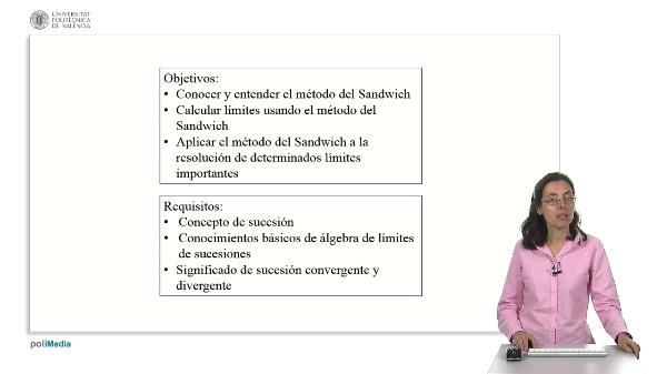 Cálculo de límites de sucesiones: El criterio del Sandwich