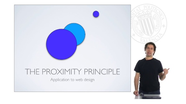 Web Design: Proximity Principle