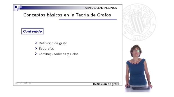 Conceptos básicos de la teoría de grafos