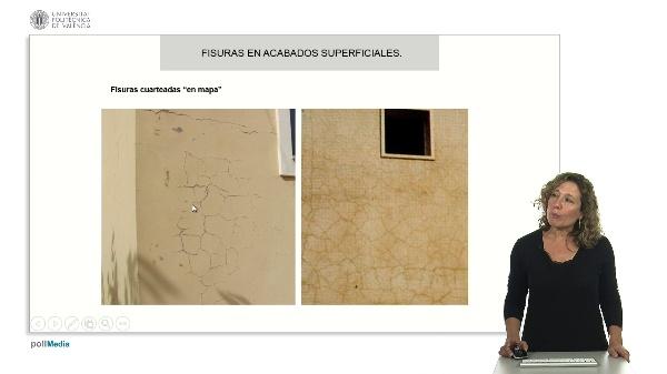 Lesiones en fachadas III. Origen físico y químico.