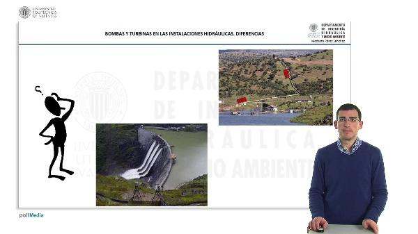 Bombas y Turbinas en la instalación hidráulica. Diferencias