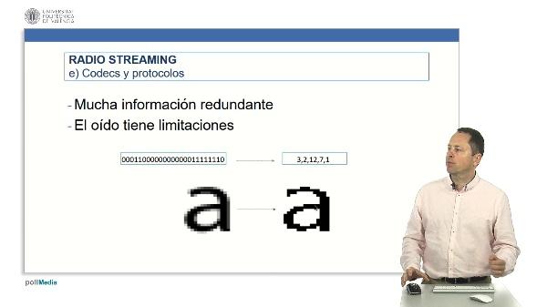Radio en Streaming: Codecs de audio