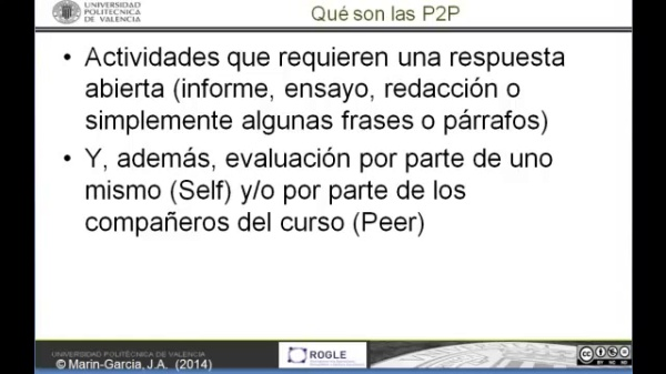 EdX. Envio de P2P
