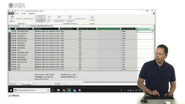 Power Pivot. El modelo de datos de Excel. DAX Concatenar para campo clave