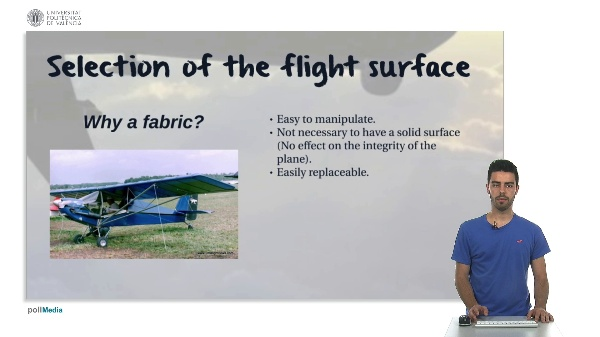 Taking a look back. Selection of the flight surface