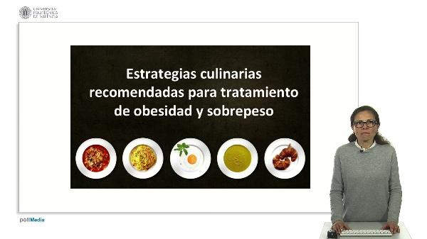 Técnicas culinarias en obesidad y sobrepeso.