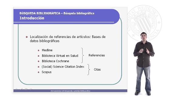 Búsqueda Bibliográfica - Introducción