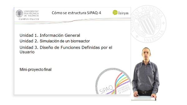 Presentacion. SiPAQ-4: Dise?o de Funciones Definidas por el Usuario en Simulink? y Xcos?