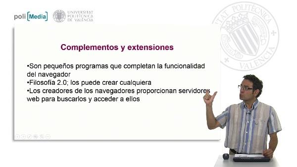 Complementos y extensiones