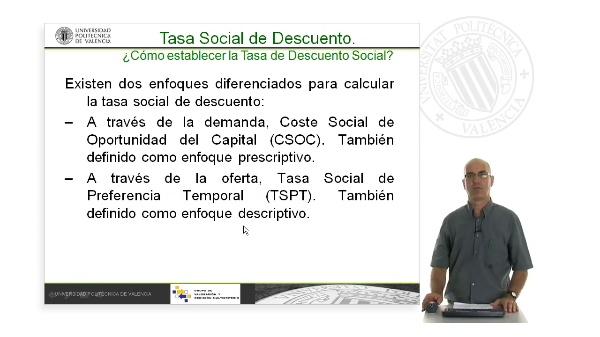 La Tasa de Descuento Social. Oferta y Demanda