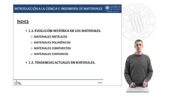 Evolución histórica de los materiales