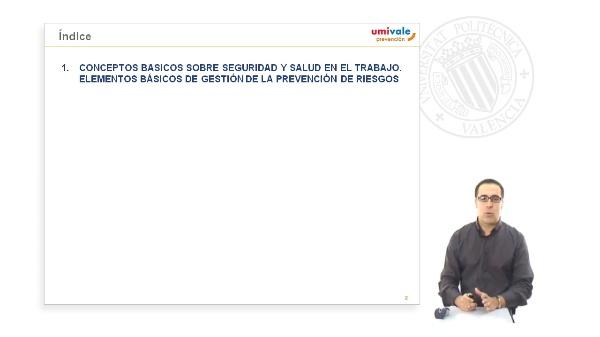 Introduccion y legislacion LEY 31/95 Prevencion Riesgos Laborales