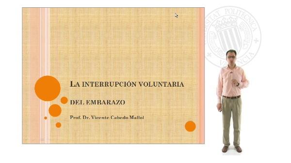 La interrupción voluntaria del embarazo