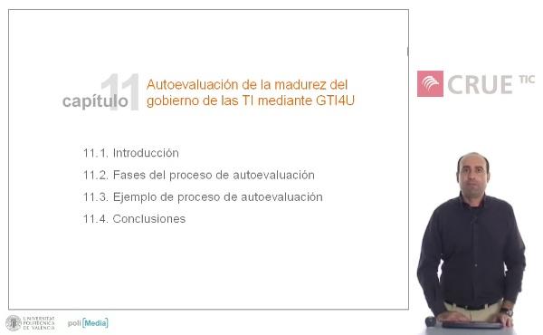 Autoevaluación de la madurez del gobierno de las TI mediante GTI4U