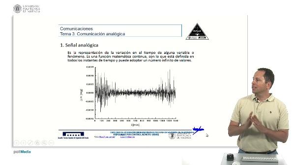 Señales analógicas, definición, ancho de banda, señales banda base