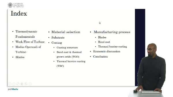 Material Selection For Turbine Blades.