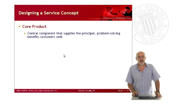 Developing Service Concepts: Core and Supplementary Elements