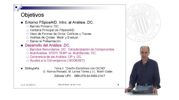 Prontuario de OrCAD. Pspice: Entorno y Análisis .DC (I)