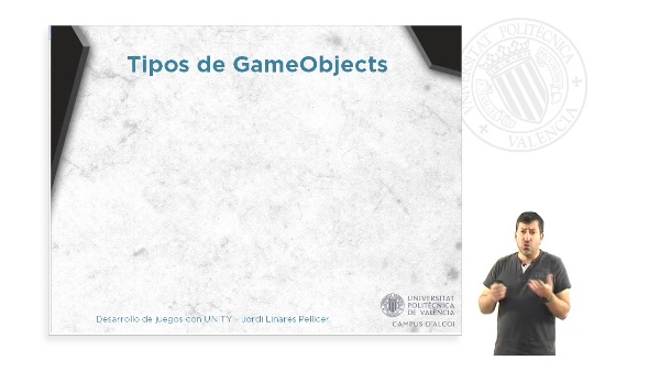 GAMEOBJECTS Y COMPONENTES