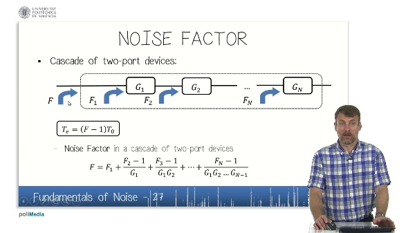 Fundamentals of Noise (IX)